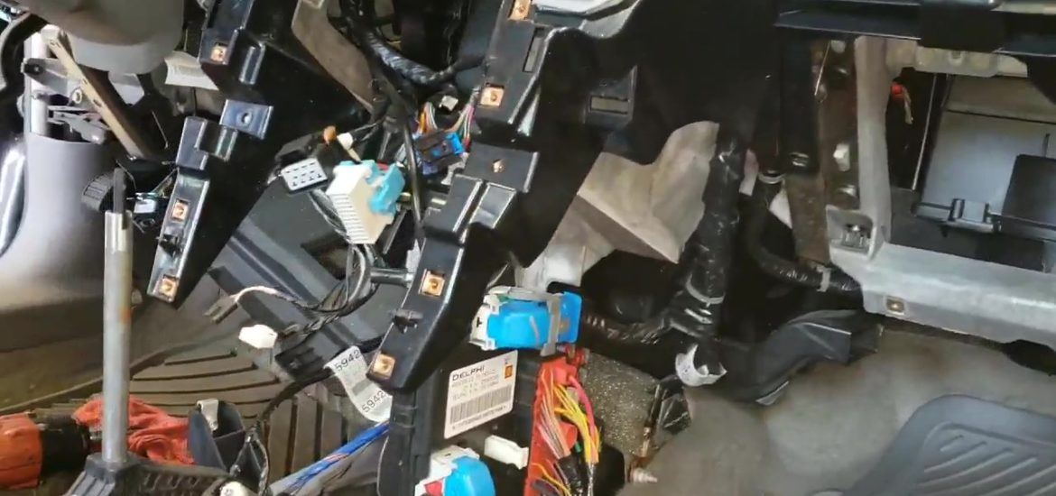 Dash Removal Required For This Chevy Heater Core Replacement
